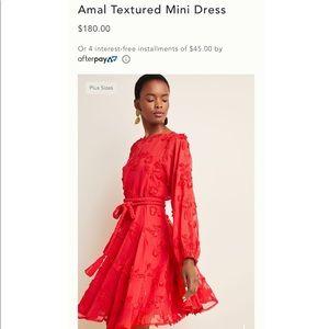 LIKE NEW Anthropologie Amal Textured Mini Dress